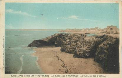 "CPA FRANCE 85 ""Sion, La Corniche vendéenne"""