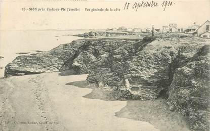 """CPA FRANCE 85 """"Sion, La Côte"""""""