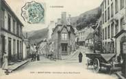 """63 Puy De DÔme / CPA FRANCE 63 """"Le Mont Doré, Carrefour de la rue Favard"""" / CACHET AMBULANT"""