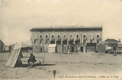"""CPA FRANCE 85 """"Saint Jean de Monts, Hotel de la Plage"""""""