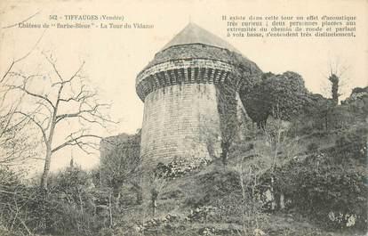 "CPA FRANCE 85 ""Tiffauges, ruines du chateau"""