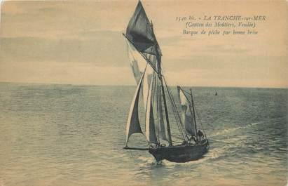 "CPA FRANCE 85 ""La Tranche sur Mer, barque de pêche"""