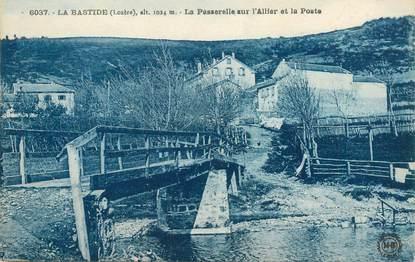 """CPA FRANCE 48 """"La Bastide"""""""