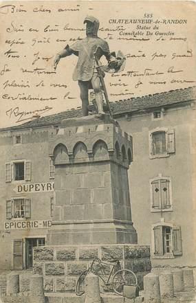 """CPA FRANCE 48 """"Chateauneuf de Randon"""""""