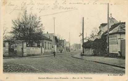 """CPA FRANCE 94 """"Saint Maur des Fossés, rue de la Varenne"""""""