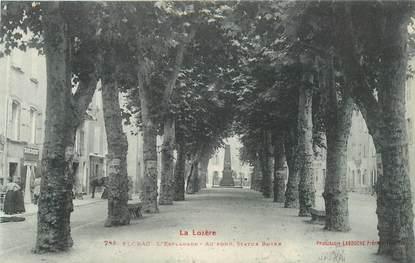 "CPA FRANCE 48 ""Florac, L'Esplanade"""