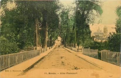 "CPA FRANCE 48 ""Mende, Allée Piencourt"""