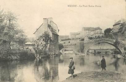 "CPA FRANCE 48 ""Mende, le Pont Notre Dame"""