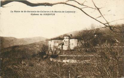 "CPA FRANCE 48 ""Chateau de Gibertin"