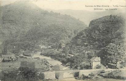 "CPA FRANCE 48 ""Moissac, Env. de Sainte Croix"""