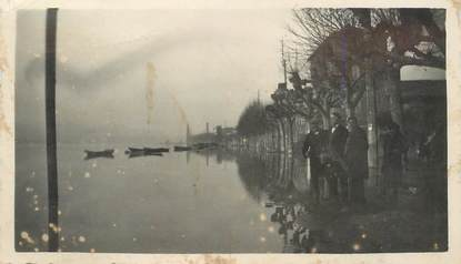 "PHOTO FRANCE 69 ""Neuville sur Saone, inondations 1936"""