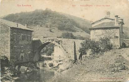 "CPA FRANCE 48 ""Villefort, Pont Saint Jean"""