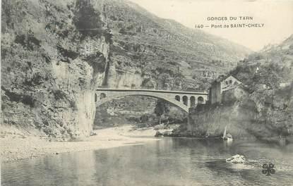 """CPA FRANCE 48 """"Pont de Saint Chely"""""""