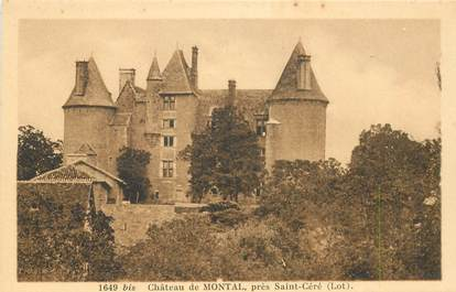 "CPA FRANCE 46 ""Montal, le chateau"""