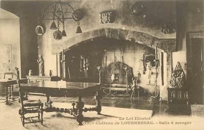 """CPA FRANCE 46 """"Montvalent, chateau de Loubressac"""""""