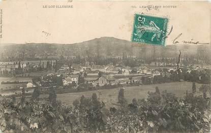 """CPA FRANCE 46 """"Les Quatre routes"""""""