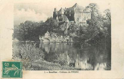 """CPA FRANCE 46 """"Env. de Souillac, le chateau de Pinsac"""""""