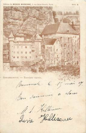 """CPA FRANCE 46 """"Rocamadour"""""""