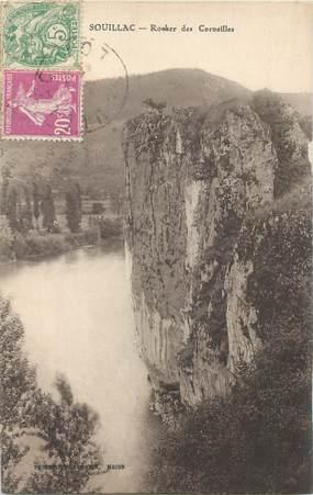 """CPA FRANCE 46 """"Souillac, rocher des Corneilles"""""""