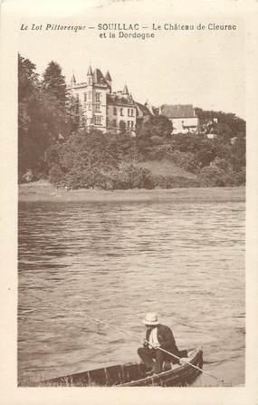 "CPA FRANCE 46 ""Souillac, le chateau de Cieurac"""