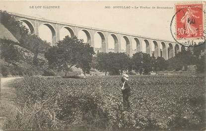 """CPA FRANCE 46 """"Souillac, le viaduc de Bramefont"""""""