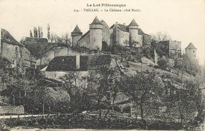 "CPA FRANCE 46 ""Vaillac, le chateau"""