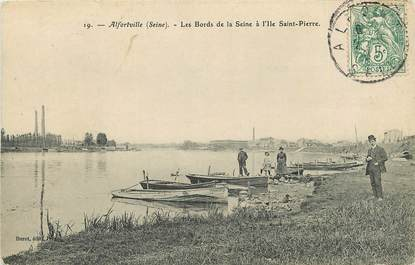 """CPA FRANCE 94 """"Alfortville, Ile Saint Pierre"""