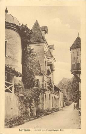 """CPA FRANCE 47 """"Lavardac, le Moulin des Tours"""""""
