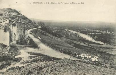 """CPA FRANCE 47 """"Penne d'Agenais"""""""