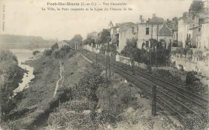 """CPA FRANCE 47 """"Port Sainte Marie"""""""
