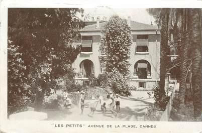 """CPA FRANCE 06 """"Cannes, Avenue de la Plage"""""""
