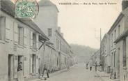 """60 Oise / CPA FRANCE 60 """"Verberie, rue de Paris"""""""