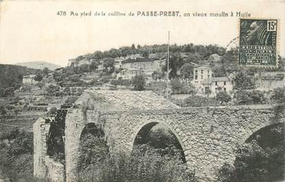 """CPA FRANCE 06 """"Saint Paul, Au pied de la colline de Passe Prest, vieux moulin à Huile"""""""