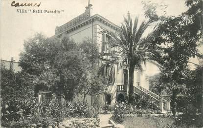 "CPA FRANCE 06 ""Cannes, villa Petit Paradis"""