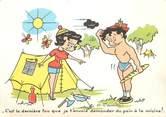 Illustrateur CPSM ILLUSTRATEUR MEUNIER G. / CAMPING