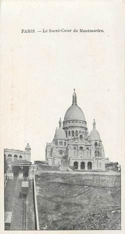"""CPA FRANCE 75018 """"Paris, le Sacré Coeur de Montmartre"""""""