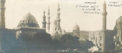 """CPA EGYPTE """"Le Caire, la Mosquée du Sultan Hassan"""""""