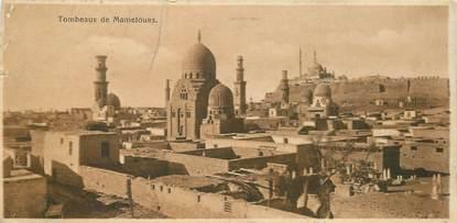 """CPA EGYPTE """"Le Caire, tombeaux de Mamelouks"""""""