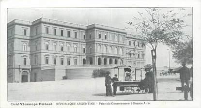 """CPA ARGENTINE """"Buenos Aires, palais du Gouvernement"""""""