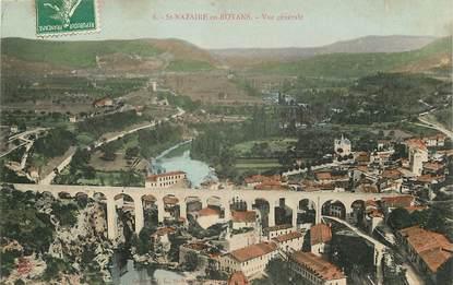 """CPA FRANCE 26 """"Saint Nazaire en Royans, vue générale et le pont"""""""