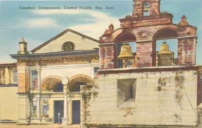 "CPA REPUBLIQUE DOMINICAINE ""Cathédrale Campanario"""
