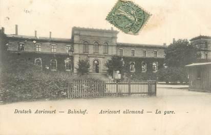 """CPA FRANCE 54 """"Avricourt, la gare"""""""