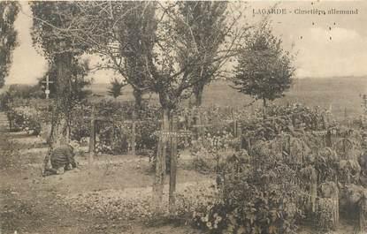 """CPA FRANCE 57 """"Lagarde, le cimetière allemand"""""""