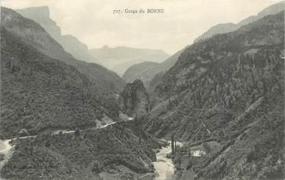 "CPA FRANCE 74 ""Gorge du Borne"""