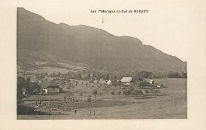 """CPA FRANCE 74 """"Les Pâturages du Col de Bluffy"""""""