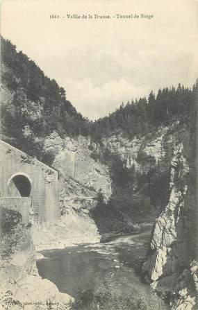 "CPA FRANCE 74 ""Vallé de la Dranse, Tunnel de Bioge"""