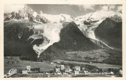 """CPA FRANCE 74 """"Les Bossons, le Mont Blanc"""""""