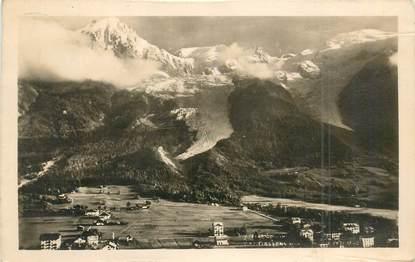 """CPSM FRANCE 74 """"Les Bossons, le Mont Blanc"""""""