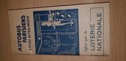 Vieux Papier LIVRET AUTOBUS PARISIENS / LIGNES