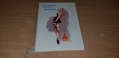 CALENDRIER 1957 / FEMME PIN UP